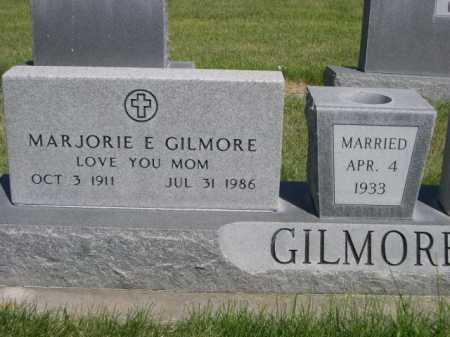 GILMORE, MARJORIE E. - Dawes County, Nebraska   MARJORIE E. GILMORE - Nebraska Gravestone Photos
