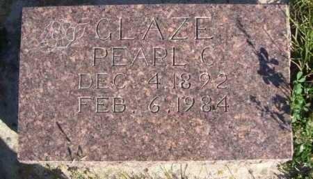 GLAZE, PEARL C. - Dawes County, Nebraska | PEARL C. GLAZE - Nebraska Gravestone Photos