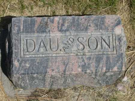 GLENN, DAU AND SON - Dawes County, Nebraska | DAU AND SON GLENN - Nebraska Gravestone Photos