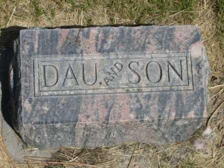 GLENN, DAU AND SON - Dawes County, Nebraska | DAU AND SON GLENN - Nebraska Gravestone Photos