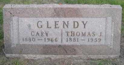GLENDY, CARY - Dawes County, Nebraska | CARY GLENDY - Nebraska Gravestone Photos