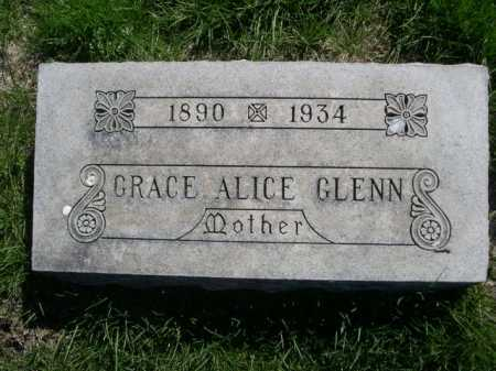 GLENN, GRACE ALICE - Dawes County, Nebraska | GRACE ALICE GLENN - Nebraska Gravestone Photos