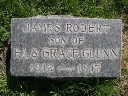 GLENN, JAMES ROBERT - Dawes County, Nebraska | JAMES ROBERT GLENN - Nebraska Gravestone Photos