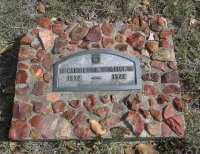 GLICK, CARRIE B. - Dawes County, Nebraska | CARRIE B. GLICK - Nebraska Gravestone Photos