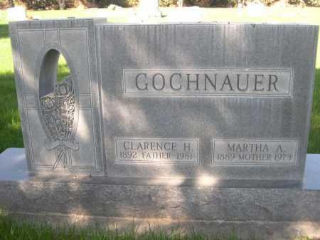 GOCHNAUER, CLARENCE H. - Dawes County, Nebraska | CLARENCE H. GOCHNAUER - Nebraska Gravestone Photos