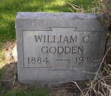 GODDEN, WILLIAM C. - Dawes County, Nebraska   WILLIAM C. GODDEN - Nebraska Gravestone Photos