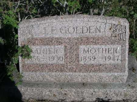 GOLDEN, MOTHER - Dawes County, Nebraska | MOTHER GOLDEN - Nebraska Gravestone Photos