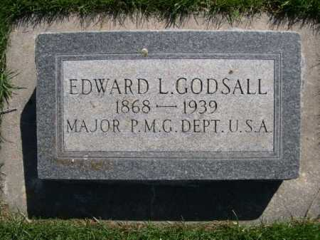 GODSALL, EDWARD L. - Dawes County, Nebraska   EDWARD L. GODSALL - Nebraska Gravestone Photos