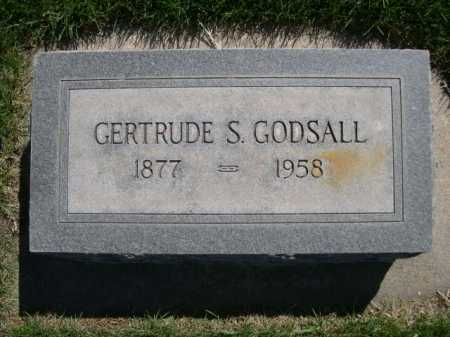 GODSALL, GERTRUDE S. - Dawes County, Nebraska   GERTRUDE S. GODSALL - Nebraska Gravestone Photos