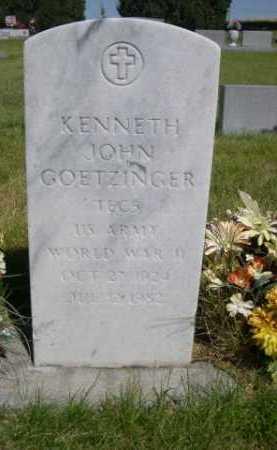 GOETZINGER, KENNETH JOHN - Dawes County, Nebraska   KENNETH JOHN GOETZINGER - Nebraska Gravestone Photos