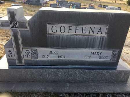 GOFFENA, MARY - Dawes County, Nebraska | MARY GOFFENA - Nebraska Gravestone Photos