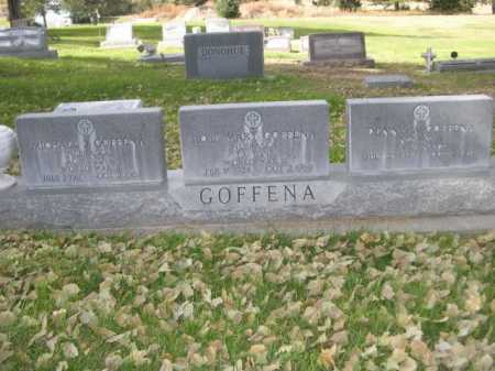 GOFFENA, ROSE MARY - Dawes County, Nebraska | ROSE MARY GOFFENA - Nebraska Gravestone Photos