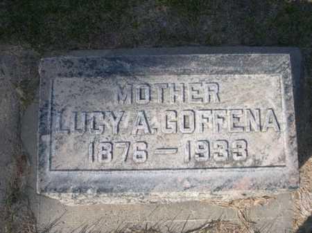GOFFENA, LUCY A. - Dawes County, Nebraska | LUCY A. GOFFENA - Nebraska Gravestone Photos
