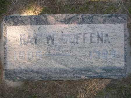 GOFFENA, RAY W. - Dawes County, Nebraska | RAY W. GOFFENA - Nebraska Gravestone Photos