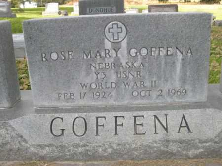 GOFFENA, ROSE MARY - Dawes County, Nebraska | ROSE MARY GOFFENA - Nebraska Gravestone Photos