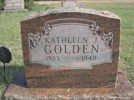 GOLDEN, KATHLEEN J. - Dawes County, Nebraska | KATHLEEN J. GOLDEN - Nebraska Gravestone Photos