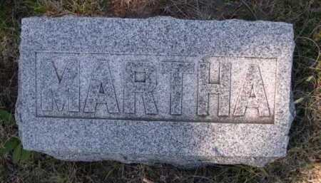 GOOCH, MARTHA - Dawes County, Nebraska   MARTHA GOOCH - Nebraska Gravestone Photos