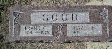 GOOD, FRANK C. - Dawes County, Nebraska | FRANK C. GOOD - Nebraska Gravestone Photos
