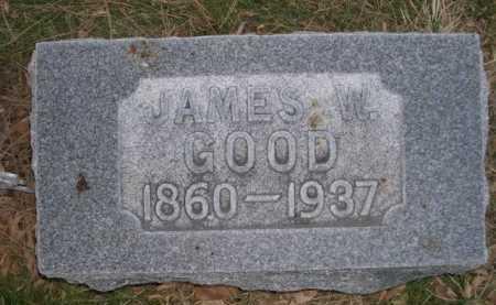 GOOD, JAMES W. - Dawes County, Nebraska   JAMES W. GOOD - Nebraska Gravestone Photos