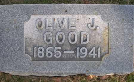 GOOD, OLIVE J. - Dawes County, Nebraska | OLIVE J. GOOD - Nebraska Gravestone Photos