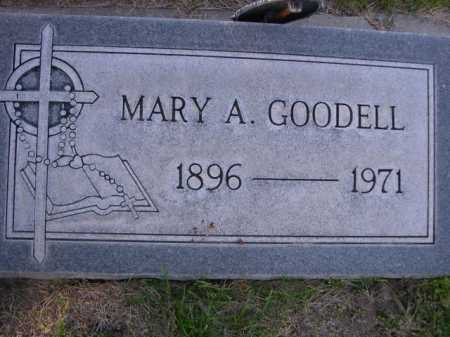 GOODELL, MARY A - Dawes County, Nebraska   MARY A GOODELL - Nebraska Gravestone Photos