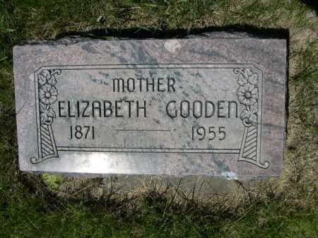 GOODEN, ELIZABETH - Dawes County, Nebraska | ELIZABETH GOODEN - Nebraska Gravestone Photos