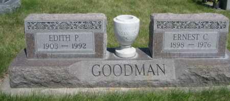 GOODMAN, ERNEST C. - Dawes County, Nebraska | ERNEST C. GOODMAN - Nebraska Gravestone Photos