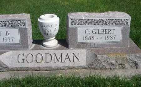 GOODMAN, G. GILBERT - Dawes County, Nebraska | G. GILBERT GOODMAN - Nebraska Gravestone Photos