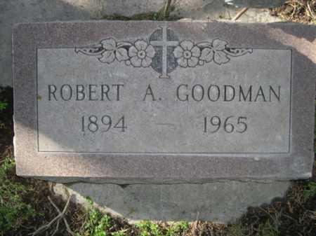 GOODMAN, ROBERT A. - Dawes County, Nebraska | ROBERT A. GOODMAN - Nebraska Gravestone Photos