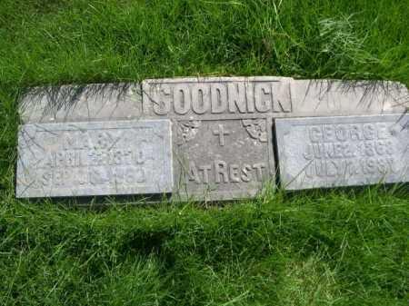 GOODNICK, GEORGE - Dawes County, Nebraska | GEORGE GOODNICK - Nebraska Gravestone Photos