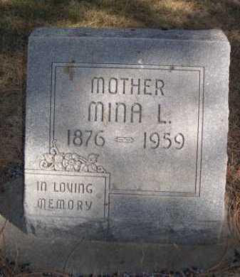 GOODNOUGH, MINA L. - Dawes County, Nebraska | MINA L. GOODNOUGH - Nebraska Gravestone Photos