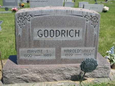 "GOODRICH, HAROLD ""SMILEY"" - Dawes County, Nebraska | HAROLD ""SMILEY"" GOODRICH - Nebraska Gravestone Photos"