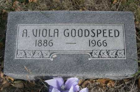 GOODSPEED, A. VIOLA - Dawes County, Nebraska | A. VIOLA GOODSPEED - Nebraska Gravestone Photos