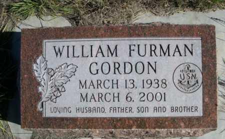 GORDON, WILLIAM FURMAN - Dawes County, Nebraska | WILLIAM FURMAN GORDON - Nebraska Gravestone Photos