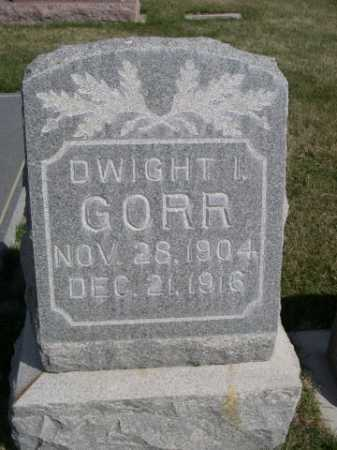 GORR, DWIGHT I. - Dawes County, Nebraska | DWIGHT I. GORR - Nebraska Gravestone Photos