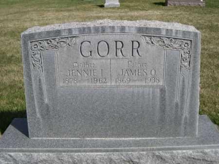 GORR, JENNIE I. - Dawes County, Nebraska | JENNIE I. GORR - Nebraska Gravestone Photos