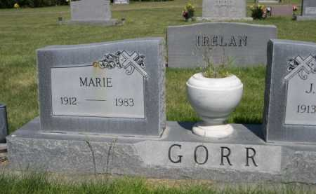 GORR, MARIE - Dawes County, Nebraska | MARIE GORR - Nebraska Gravestone Photos
