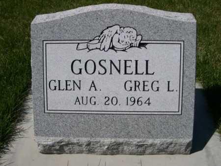 GOSNELL, GLEN A. - Dawes County, Nebraska | GLEN A. GOSNELL - Nebraska Gravestone Photos