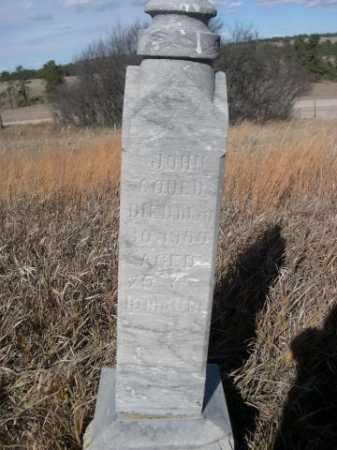 GOUED, JOHN - Dawes County, Nebraska   JOHN GOUED - Nebraska Gravestone Photos