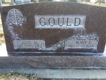 GOULD, DEAN H. - Dawes County, Nebraska   DEAN H. GOULD - Nebraska Gravestone Photos