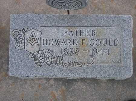 GOULD, HOWARD E. - Dawes County, Nebraska | HOWARD E. GOULD - Nebraska Gravestone Photos
