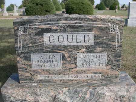 GOULD, ADA E. - Dawes County, Nebraska   ADA E. GOULD - Nebraska Gravestone Photos