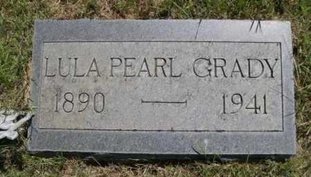 GRADY, LULA PEARL - Dawes County, Nebraska | LULA PEARL GRADY - Nebraska Gravestone Photos