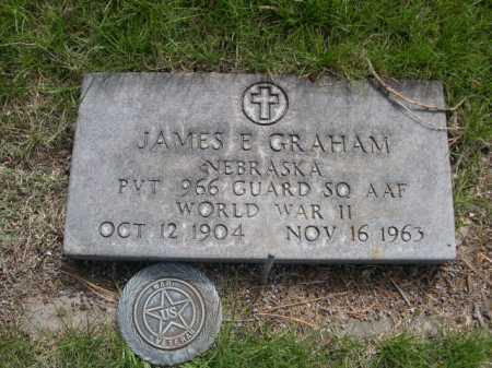 GRAHAM, JAMES E. - Dawes County, Nebraska   JAMES E. GRAHAM - Nebraska Gravestone Photos