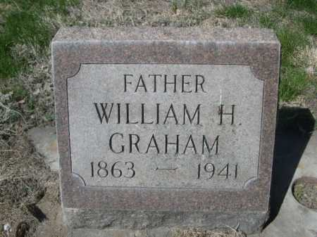 GRAHAM, WILLIAM H. - Dawes County, Nebraska | WILLIAM H. GRAHAM - Nebraska Gravestone Photos