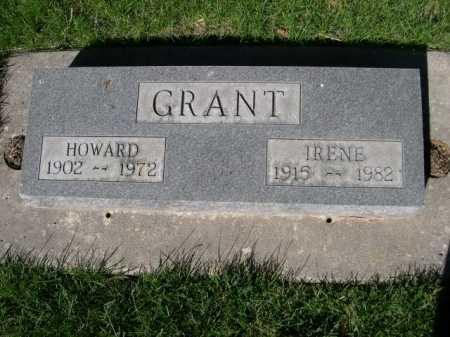 GRANT, IRENE - Dawes County, Nebraska | IRENE GRANT - Nebraska Gravestone Photos