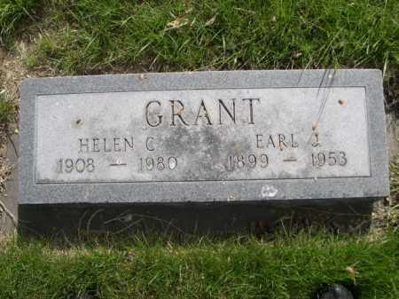 GRANT, EARL J. - Dawes County, Nebraska | EARL J. GRANT - Nebraska Gravestone Photos