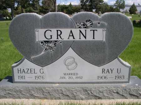 GRANT, HAZEL G. - Dawes County, Nebraska | HAZEL G. GRANT - Nebraska Gravestone Photos