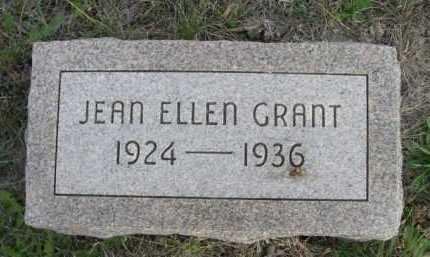 GRANT, JEAN ELLEN - Dawes County, Nebraska | JEAN ELLEN GRANT - Nebraska Gravestone Photos