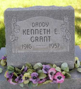 GRANT, KENNETH E. - Dawes County, Nebraska | KENNETH E. GRANT - Nebraska Gravestone Photos
